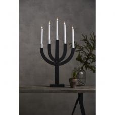 Светильник ELIAS, 67 см, темно-серый, серебрянный