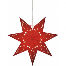 Звезда-подвес KATABO, 43 см, красный