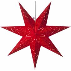 Звезда-подвес SENSY, 51 см, красный