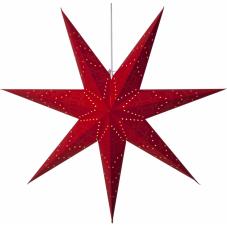 Звезда-подвес SENSY, 100 см, красный