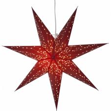 Звезда-подвес GALAXY, 60 см, красный