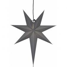 Звезда-подвес OZEN, 65 см, серый