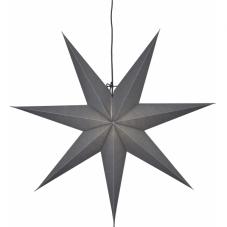 Звезда-подвес OZEN, 70 см, серый
