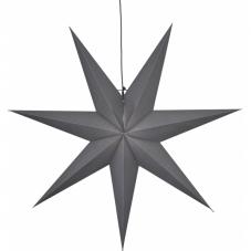 Звезда-подвес OZEN, 100 см, серый
