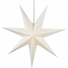 Звезда-подвес OZEN, 100 см, белый