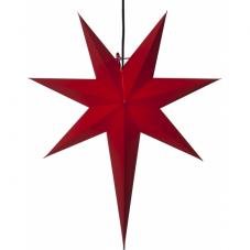 Звезда-подвес OZEN, 65 см, красный