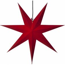Звезда-подвес OZEN, 70 см, красный