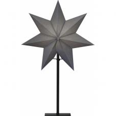 Звезда на подставке OZEN, 55 см, серый