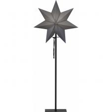 Звезда на подставке OZEN, 85 см, серый