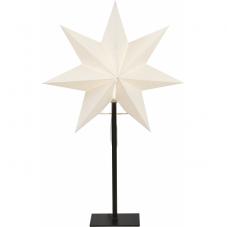 Звезда на подставке OZEN, 55 см, белый