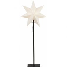 Звезда на подставке OZEN, 85 см, белый