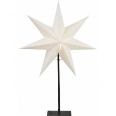Звезда на подставке OZEN, 80 см, белый