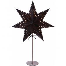 Звезда на подставке KATABO, 51 см, черный