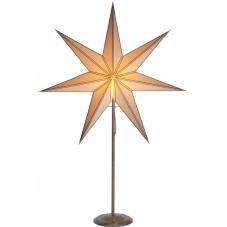 Звезда на подставке NICOLAS, 88 см, античное золото