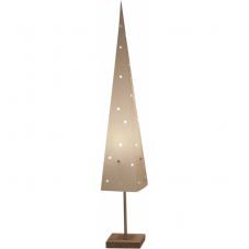 Светильник - пирамидка на подставке TOP, 80 см, белый