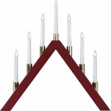Горка рождественская HALLA, 53 см, красный