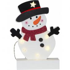Светильник рождественский FREDDY, 25 см, на батарейках,  разноцветный