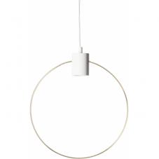 Светильник декоративный FOREVER, 39 см , Е 27, белый, золотой
