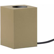 Светильник декоративный LYS, 10 см , Е 27, золотистый