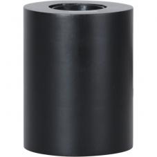 Светильник декоративный TUB, 10 см , Е 27, черный