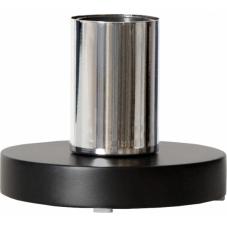 Светильник декоративный HOLD, 9 см , Е 27, черный, хром