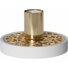 Светильник декоративный MAGIC, 9 см , Е 27, белый, золотой