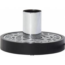 Светильник декоративный MAGIC, 9 см , Е 27, черный, хром