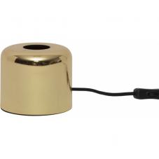 Светильник декоративный GLANS, 10 см , Е 27, золотой