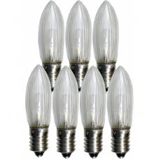 Лампочка универсальная LED  патрон E10 10-55V (Вольт), 0,2 W(Ватта), 7 шт
