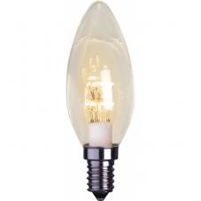 Лампа DECOLINE  универсальная 0,9 W (Ватта),  патрон Е14 LED, теплый белый