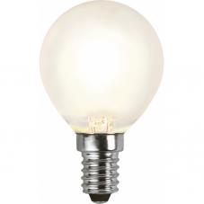 Лампа FROSTED FILAMENT универсальная 4 W (Ватта),  патрон Е14 LED, теплый белый