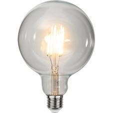 Лампа CLEAR FILAMENT универсальная 6 W (Ватт),  патрон Е27 LED, теплый белый, возможно диммирование