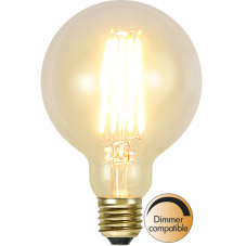 Лампа SOFT GLOW Е27 LED, прозрачный, теплый белый