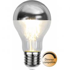 Лампа CROWN MIRROR Е27 LED, прозрачный, серебрянный