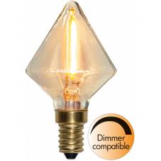Лампа SOFT GLOW Е14 LED, 84 мм, прозрачный, теплый белый