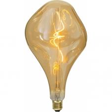 Лампа INDUSTRIAL VINTAGE,  Е27 LED, 28 см, янтарный