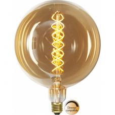 Лампа INDUSTRIAL VINTAGE,  Е27 LED, 262 мм, янтарный, теплый белый