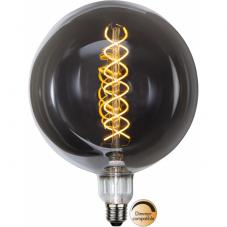 Лампа INDUSTRIAL VINTAGE,  Е27 LED, 262 мм, дымчатый, теплый белый