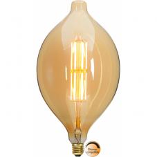 Лампа INDUSTRIAL VINTAGE,  Е27 LED, 334 мм, янтарный, теплый белый