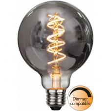 Лампа HEAVY SMOKY FILAMENT,  Е27 LED, 138 мм, дымчатый