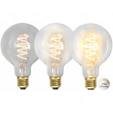 Лампа SPIRAL FILAMENT, Е27 LED, 144 мм, прозрачный, теплый белый