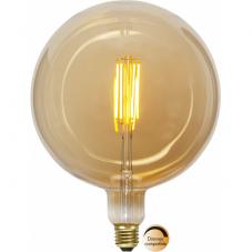 Лампа INDUSTRIAL VINTAGE,  Е27 LED, 260 мм, янтарный, теплый белый