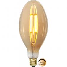 Лампа INDUSTRIAL VINTAGE,  Е27 LED, 226 мм, янтарный, теплый белый