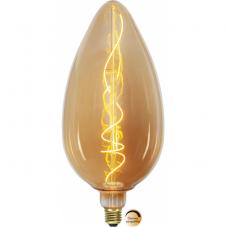 Лампа INDUSTRIAL VINTAGE,  Е27 LED, 330 мм, янтарный, теплый белый