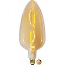 Лампа INDUSTRIAL VINTAGE,  Е27 LED, 300 мм, янтарный, теплый белый