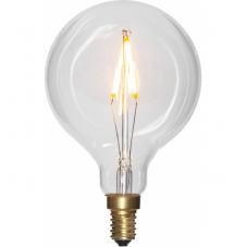 Лампа SOFT GLOW Е14 LED, 126 мм, прозрачный, теплый белый