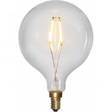 Лампа SOFT GLOW Е14 LED, 140 мм, прозрачный, теплый белый