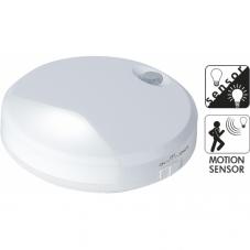 Светильник декоративный светодиодный LED на батарейках, 9,9 см, с датчиком движения