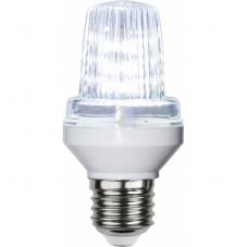 Лампа с эффектом мигания светодиодная  Е27 LED, 101 мм, дневной свет