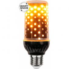 """Лампа FLAME LAMP Е27 LED, 134 мм, с эффектом """"живого огня"""", с гравитационным сенсором"""